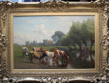 Diverse range of lots draw the bids at our November Fine Art Sale