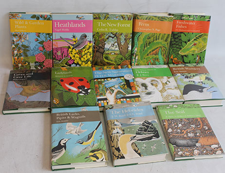 Highly collectable 'New Naturalist' books to feature in Wolverhampton auction