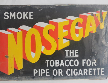 Sign of the times – Our high ad hopes for sale of vintage enamel signs