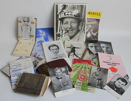 Autograph collection chronicling stars of the 50s and 60s set to sell at Wolverhampton auction on Fri 23rd June