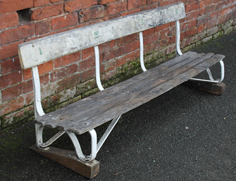 That's cricket! Victorian Lord's bench to come under the hammer at Cuttlestones