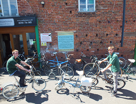 Re-CYCLE… Collection of vintage bikes set for auction in Penkridge next Wednesday
