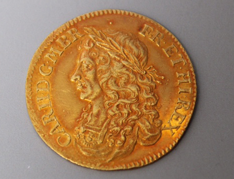 Hammer falls at �22,000 on rare Cromwellian coin