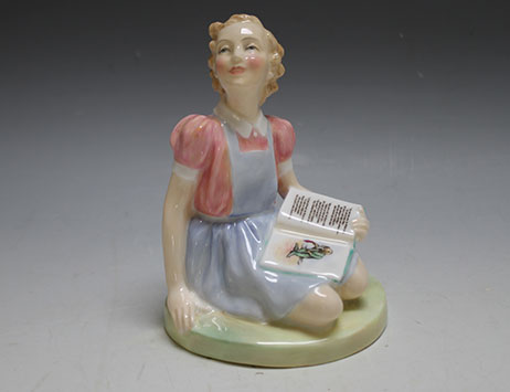 Rare Royal Doulton figurine to go under the hammer at Staffordshire auction