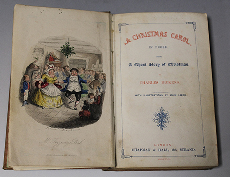 �What the Dickens?!� Collection of author�s early works tops �15k at auction�