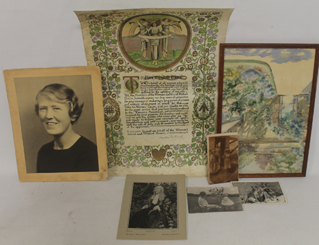 Items celebrating 'dangerous suffragette' set to come under the hammer in December