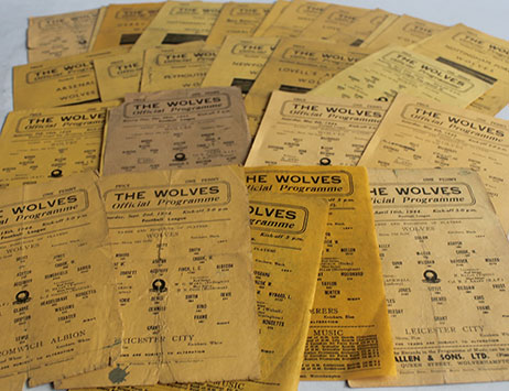 Rare Wolves vesta case amongst club memorabilia set for auction on 21st September