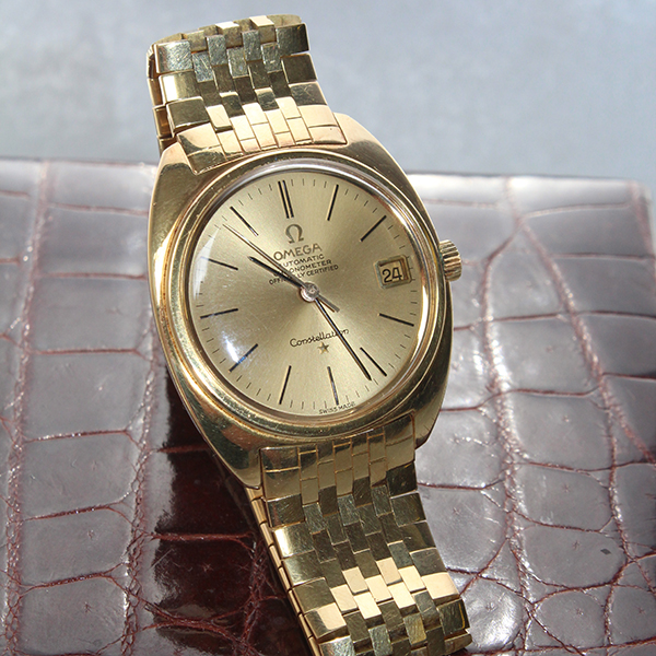 All I want for Christmas is – an 18ct gold Omega watch… Luxe gifts up for grabs at Staffordshire auction house