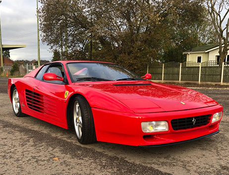 Looking for the ultimate Christmas gift? Bag a Ferrari at auction!