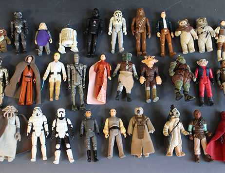 Auction of Star Wars toys expected to bring collectors out in force…