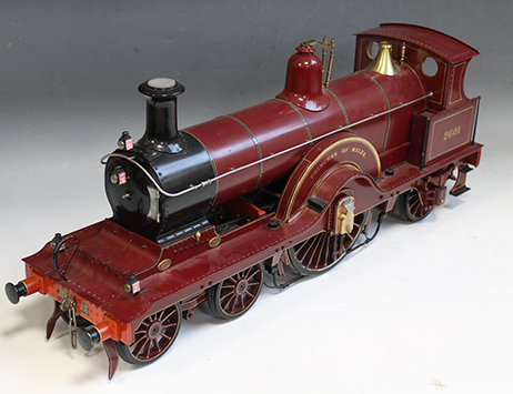 Rare model locomotive steams ahead to achieve £3,500 in Specialist Collectors' Sale